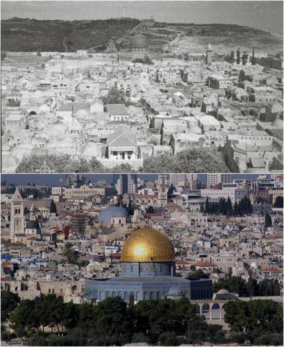 Иерусалим - древний город трёх религий.