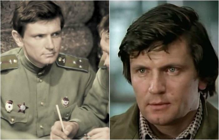 Советский и украинский актёр театра и кино  сыграл роль Колосова в кинофильме «В бой идут одни старики».