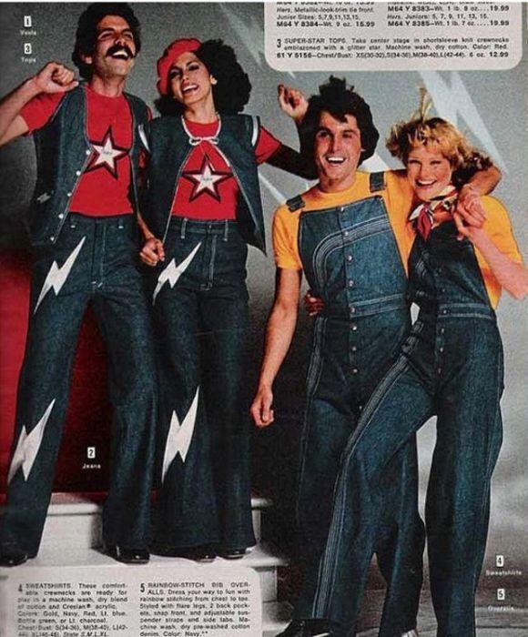 В 1970-х годах джинсы перестали ассоциироваться с одеждой фермеров и стали занимать ключевые модные позиции.