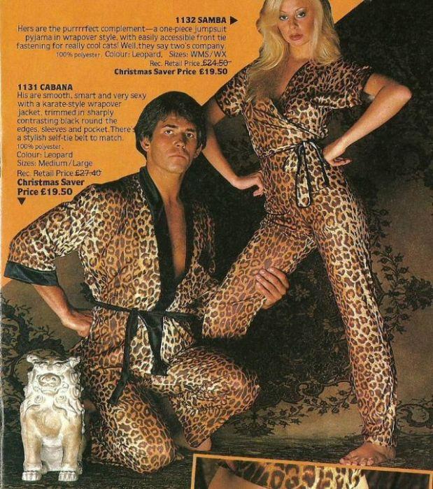 Парные пижамные комплекты с «леопардовым» принтом - для настоящих хищников!