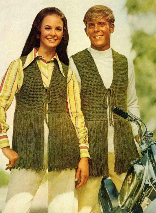 В 1970-х годах мода находилась под влиянием различных неформальных движений.