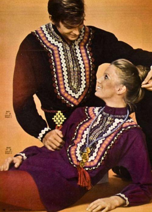 Именно в 1970-х годах ХХ столетия этнический стиль стал очень актуальным и невероятно модным.