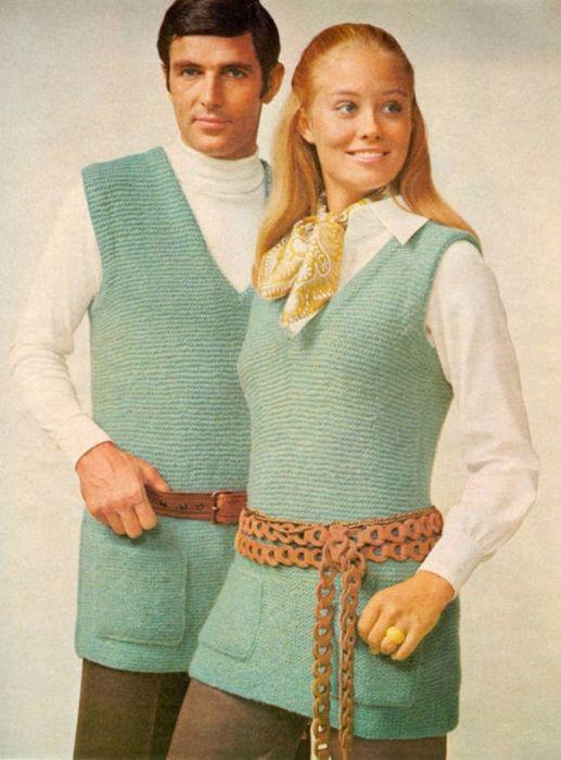 Иногда кажется, что в 1970-х годах непременным условием было – выглядеть как можно более ненормально.