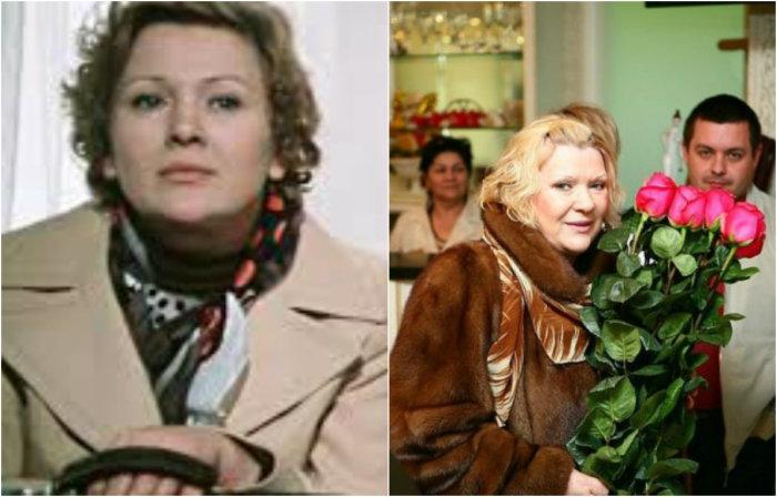 Актриса известна телезрителям по главной роли в кинокомедии «По семейным обстоятельствам», где сыграла маму, бабушку, невестку и тещу в одном лице - Галину Аркадьевну.