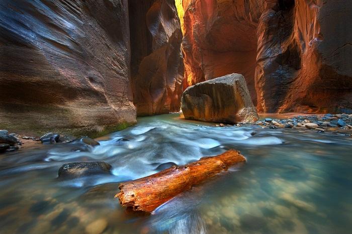 Автор снимка и победитель в категории «Пейзаж» - американский фотограф Луиза Юу (Louise Yu).