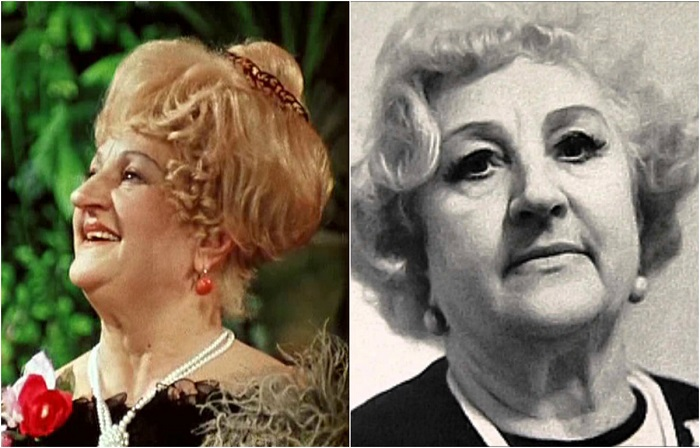 Советская актриса театра и кино, звезда оперетты в годы Великой Отечественной войны выезжала с концертами на передовую.