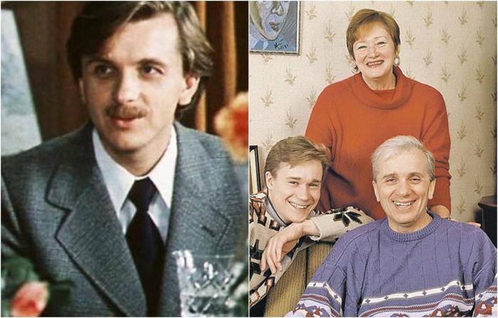 В любимой советскими зрителями киноленте актер воплотил роль Игоря, зятя Галины Аркадьевны, мужа Лиды.