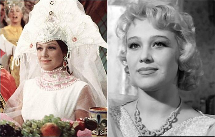 Одной из наиболее ярких работ актрисы стала роль Царевны в фильме-сказке «Огонь, вода и... медные трубы».