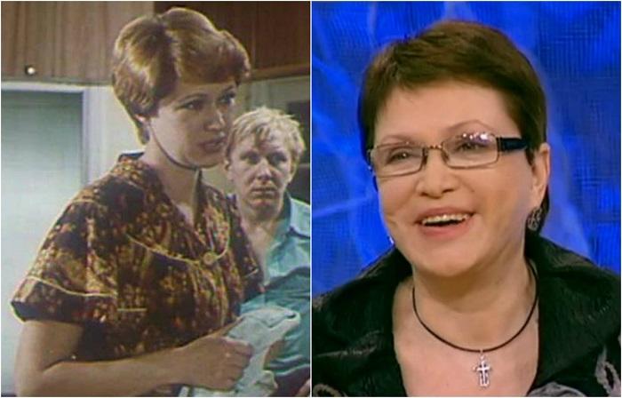 Актриса и телеведущая снималась в роли матери Сыроежкина в художественном фильме «Приключения Электроника».