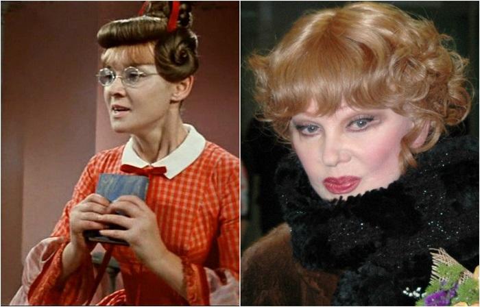 Фильмы с ее участием известны миллионам зрителей и входят в списки классики  советского кинематографа, а сама актриса стала символом целой эпохи в отечественном кино.