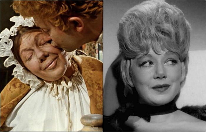Актриса, заслужившая популярность благодаря роли Вали Борц в фильме «Молодая Гвардия», в 1964 году снялась в образе матушки чиновника в комедии «Женитьба Бальзаминова».