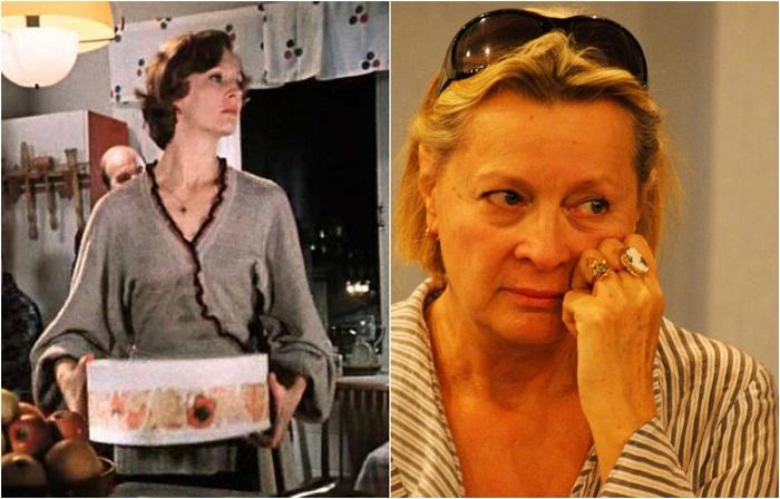 Роль яркой жены Самохвалова из знаменитого фильма «Служебный роман» стала десятой по счету для статной и привлекательной российской актрисы.