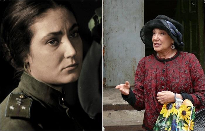 В фильмографии актрисы более сорока работ, но образ летчицы Зои из кинофильма «В бой идут одни старики» стал самым ярким.