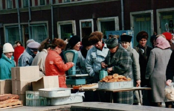Фотографии России 1992 года, сделанные германским туристом.