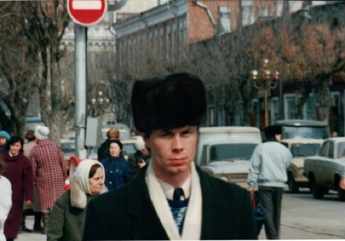 Интересные лица российских жителей привлекали внимание германского туриста не менее, чем городская архитектура.