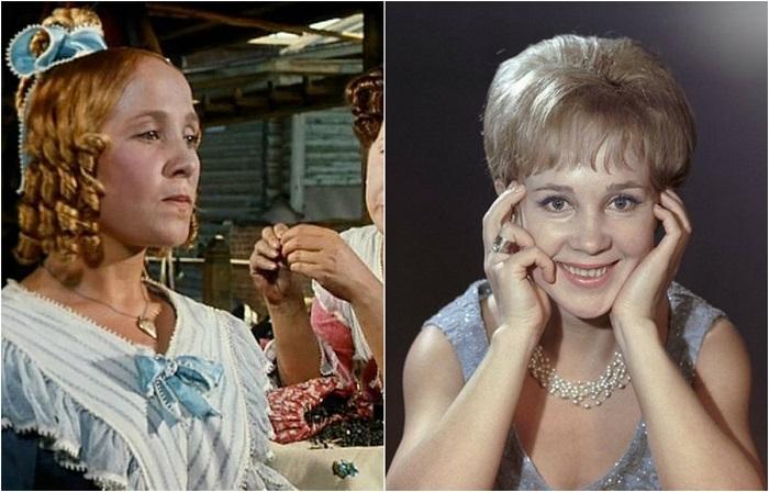 В жизни актриса была очень веселым и жизнерадостным человеком, также как и  многие ее героини - добрые, веселые и наивные девушки.