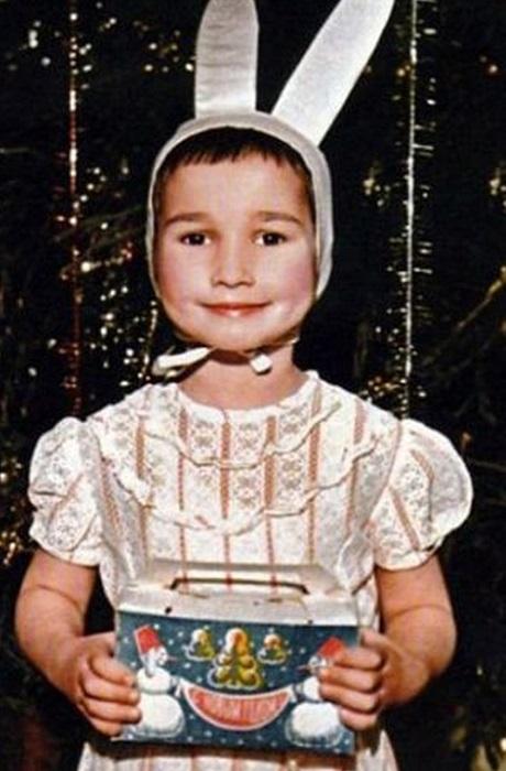 Анфиса Чехова в детстве.