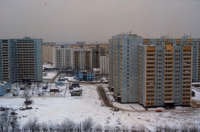 Спальный район столицы.