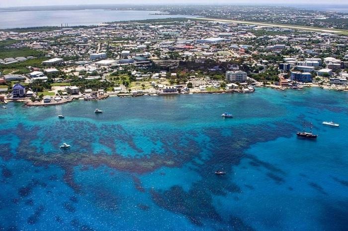 Небольшой архипелаг тектонического происхождения, расположенный в Карибском море.