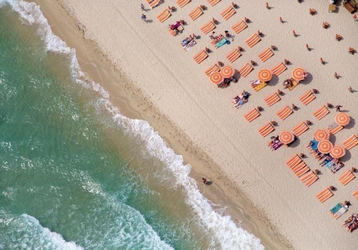 Элегантность пляжей Сен-Тропе.