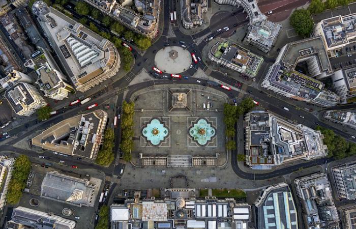 Потрясающие снимки Лондона с вертолета.
