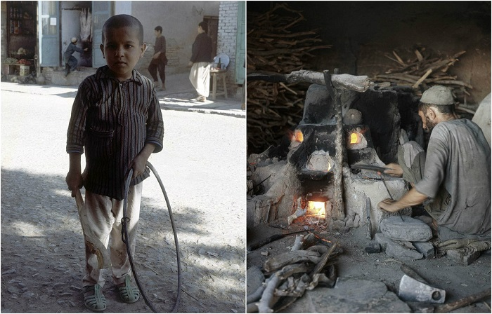 Афганистан глазами французского путешественника Франсуа Поммери.