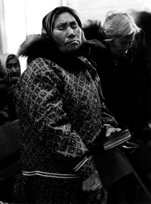 День молитвы в православной церкви, Селоик, Аляска, 1974 год.