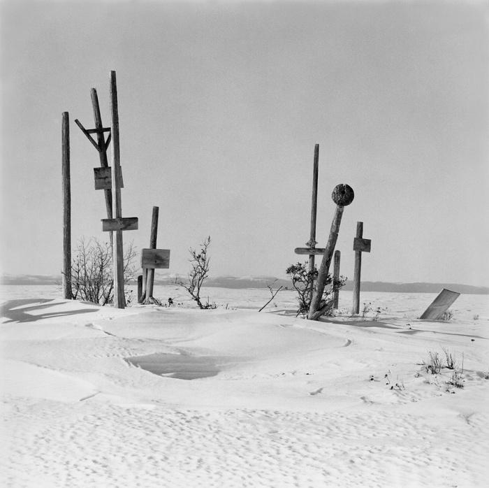 Заброшенные захоронения, Селоик, Аляска, 1974 год.