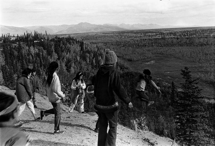 Дикая красота крайнего севера. Шунгнак, Аляска, сентябрь 1973 год.