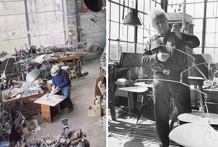Студия одного из самых инновационных современных художников Америки.