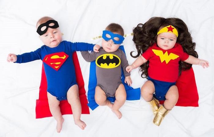 Коллекция костюмов удивительных детишек.
