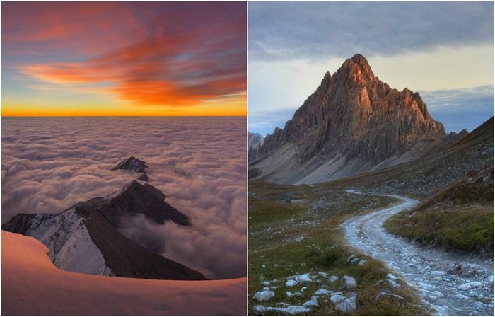 Красота и величие Альпийских гор.