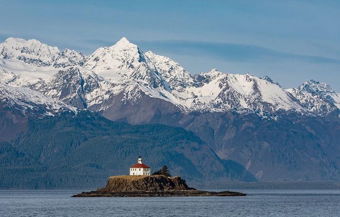 Захватывающие виды юго-восточной Аляски.