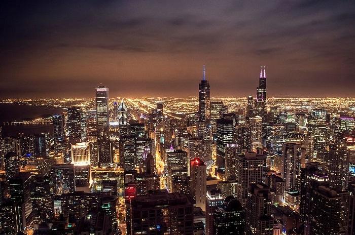 Город расположен в Северной Америке.