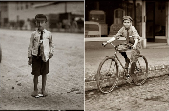 Разновидность детского труда.