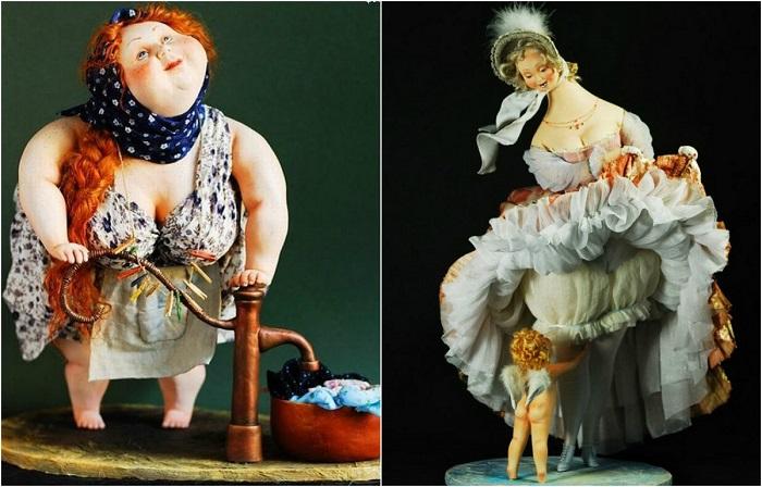 Коллекционные куклы, которые создаются волшебными руками.