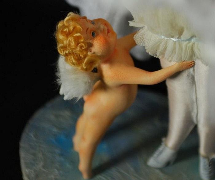 Создание кукол – это огромный труд, требующий немалого терпения и времени, который приносит удовольствие Анне и Марии.