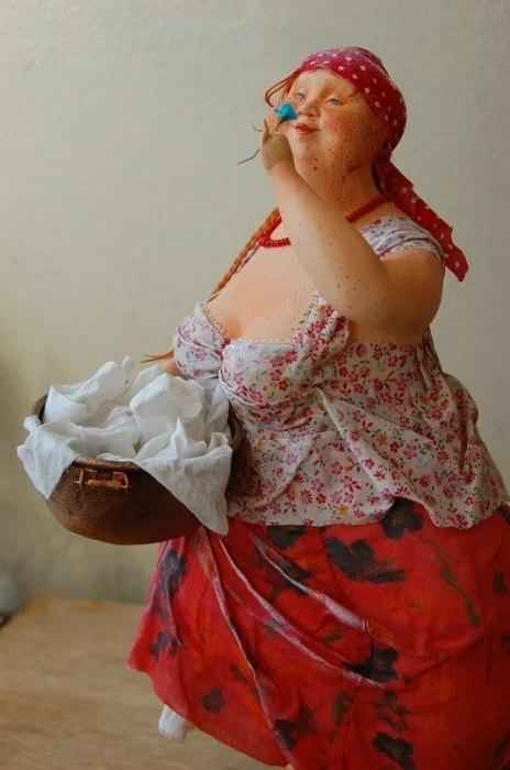 Все куклы женского пола в коллекции «АняМаня» рыжеволосые.