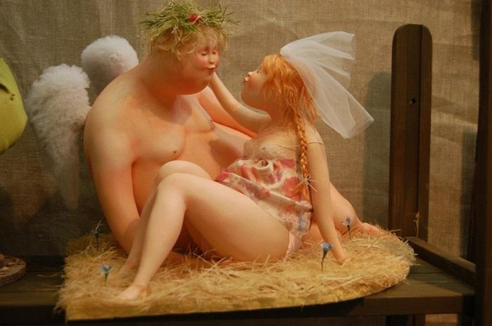 История любви между ангелом и обычной девушкой.