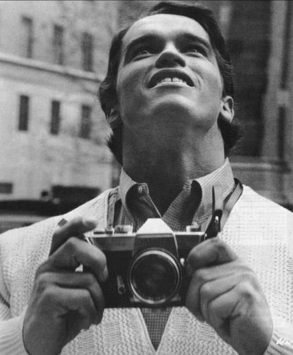 Арнольд впервые в Нью-Йорке, 1968 год.