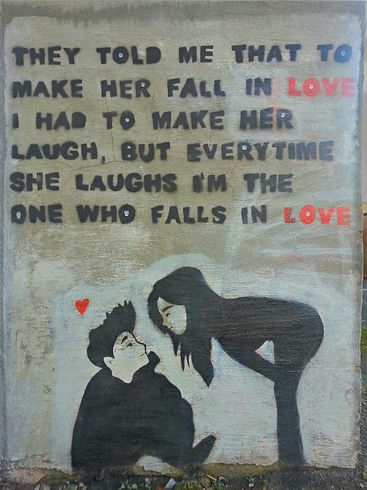 Влюблённые от неизвестного художника в Чорли, Англия.