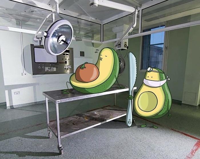 Бразильский художник Лукас Левитан явно с чувством юмора.