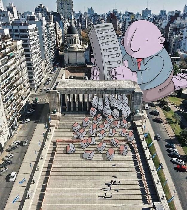 Новый метод реконструкции здания.