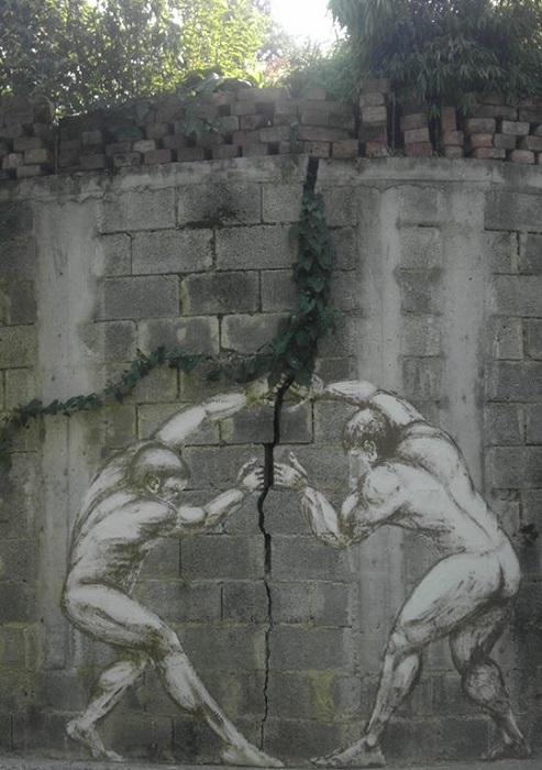 Городской sreet art.