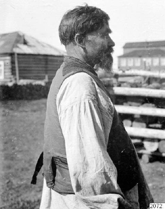 Россия, Архангельская губерния, село Ловозеро, 1910 год.