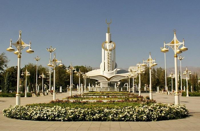 Ашхабад - столица Туркменистана.