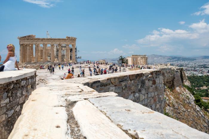 Руины Старого города.