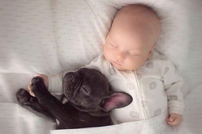 Сладкий сон двух малышей.