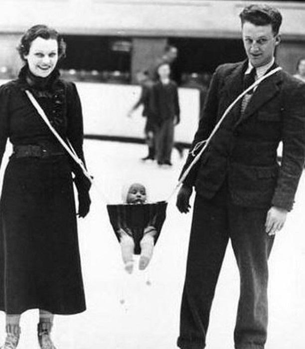 Устройство для совместных семейных прогулок, (1937 год).