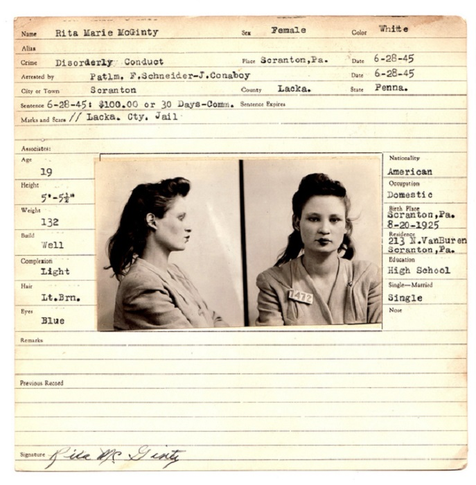 Образ женщины с книги «Least Wanted».